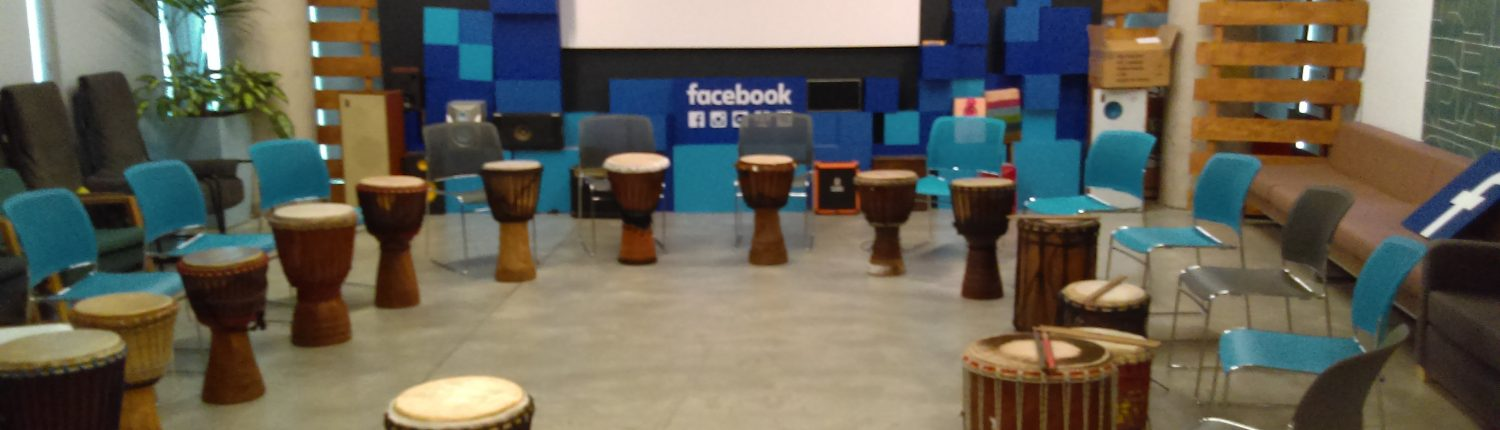 Afro Eire offer team building activities for companies using African drumming